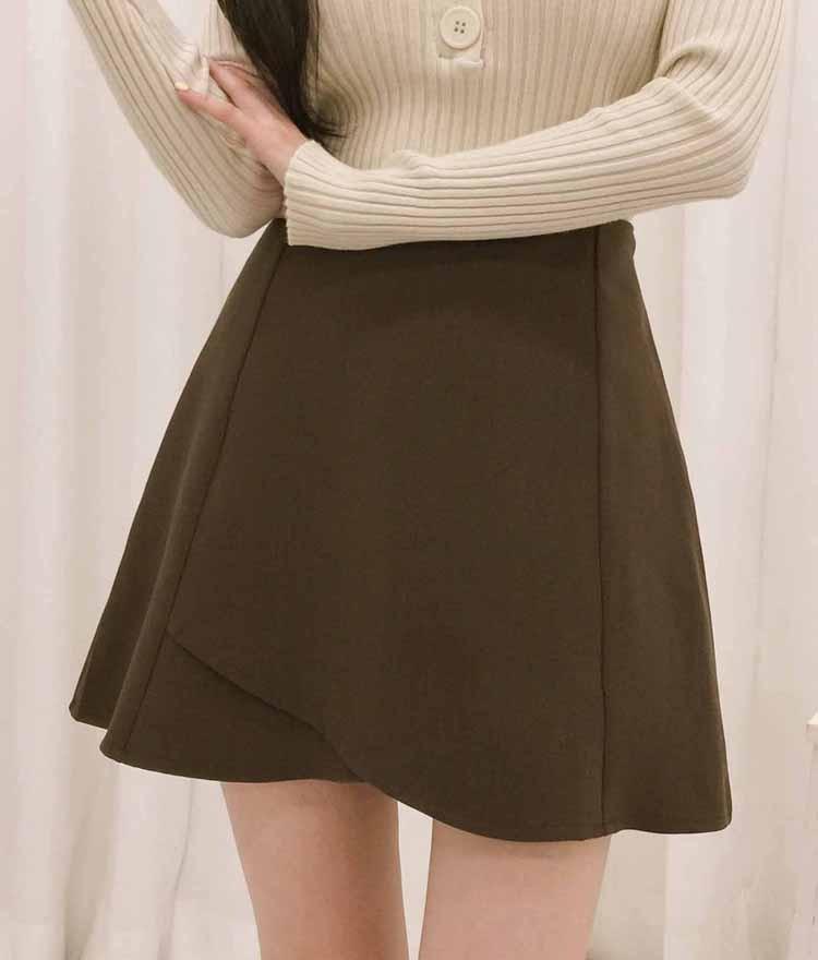 ROMANTIC MUSEA-Line Tulip Skirt