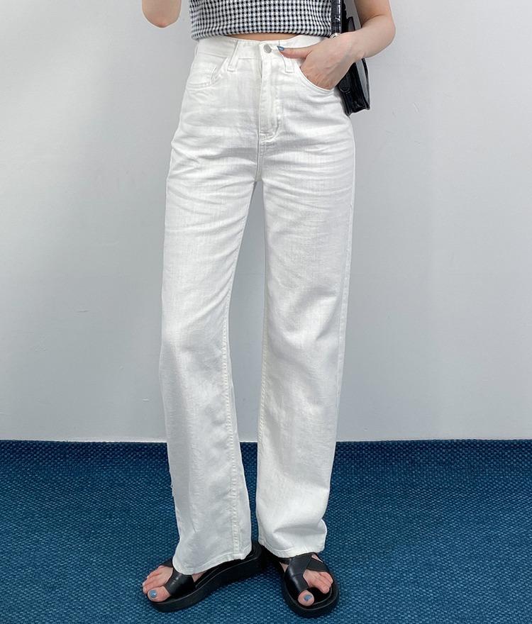 QUIETLABSolid Tone High Waist Loose Pants