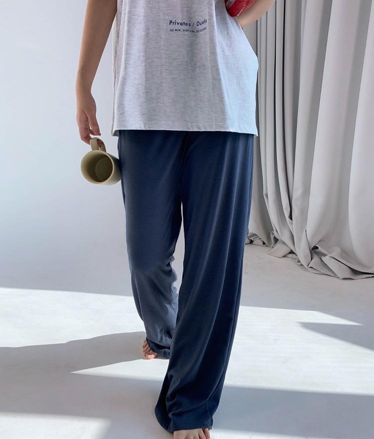 QUIETLABSingle Tone Banded Waist Pants
