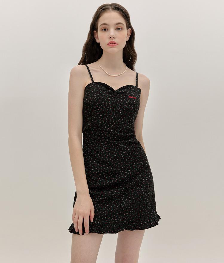 HEART CLUBDitsy Floral Sleeveless Mini Dress