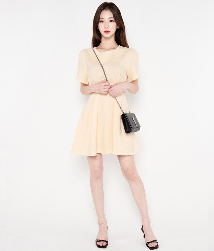 ROMANTIC MUSEBasic Fit-And-Flare Dress