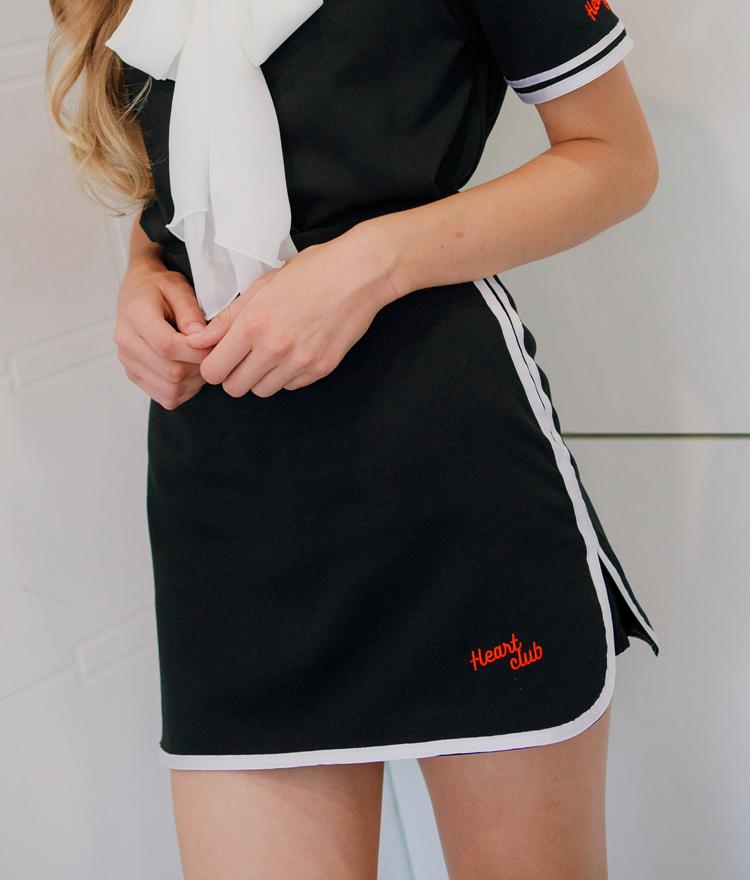 Heart Line Skirt Pants