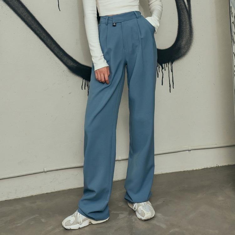 HIDE Pintuck Pants (Indi Blue)