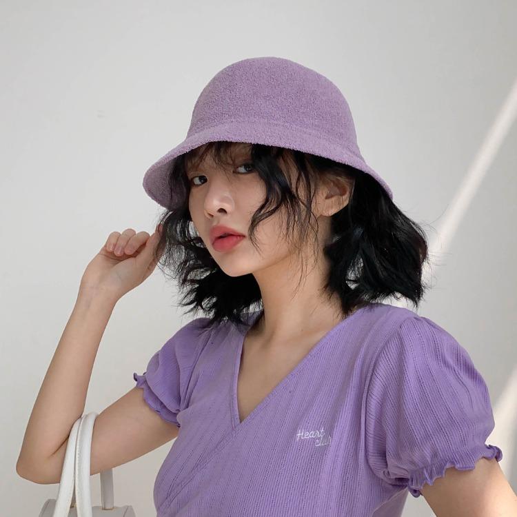 NEVERM!NDButton Top Bucket Hat