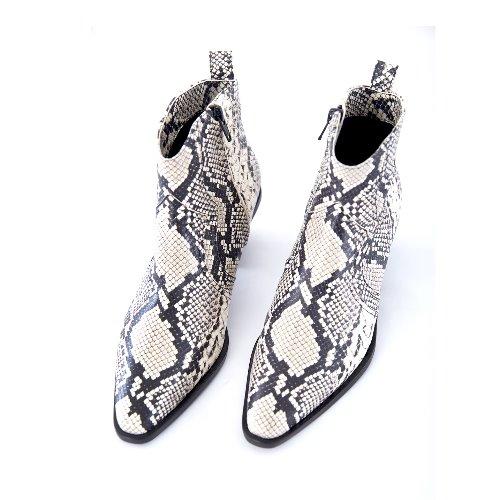 Western Short Boots (Python)