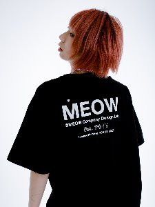 OVER FIT LOGO TEE _ BLACK