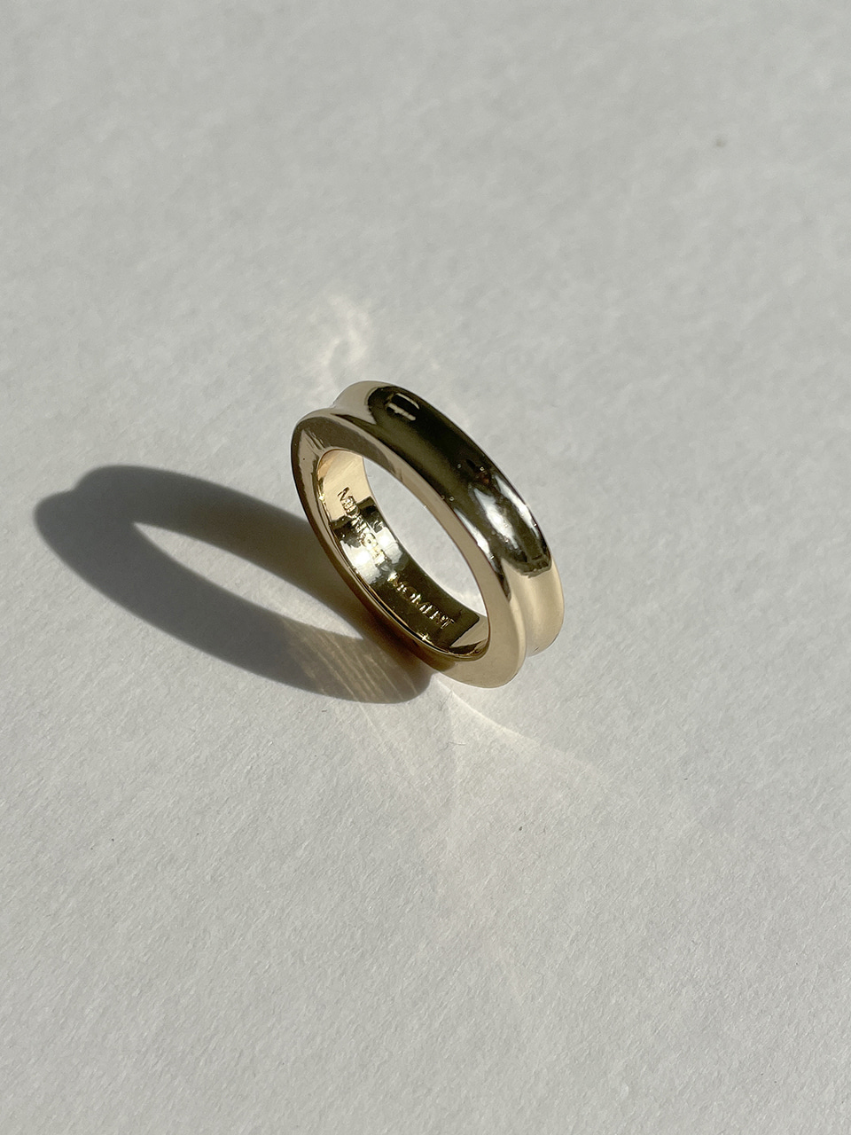 pass ring - gold