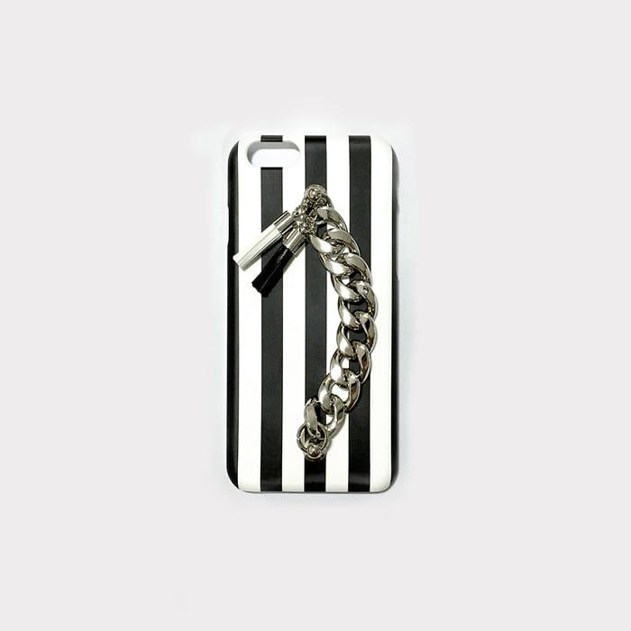 stripe tassel case.