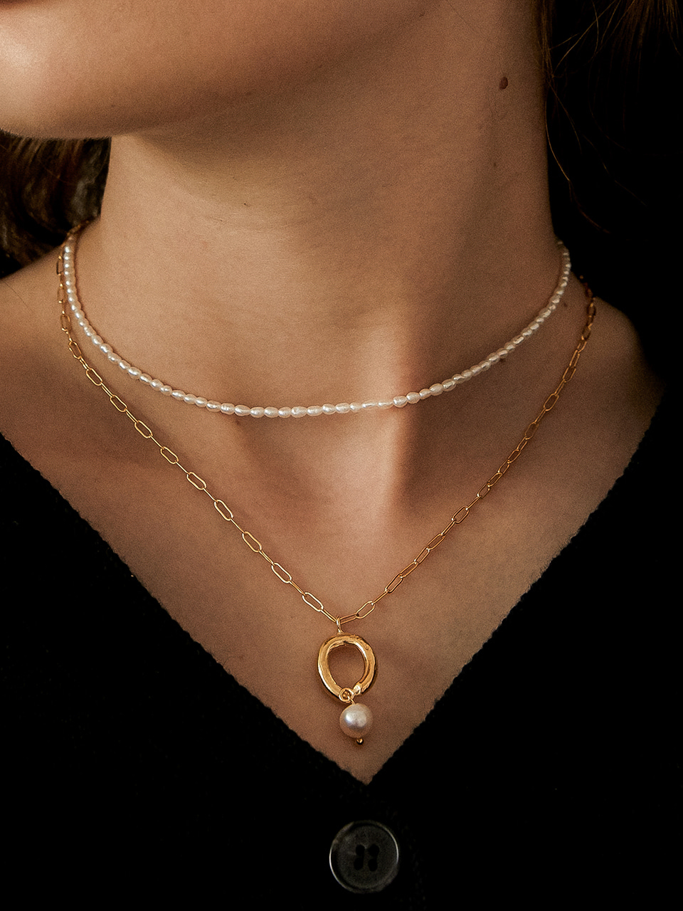 small pearl necklace