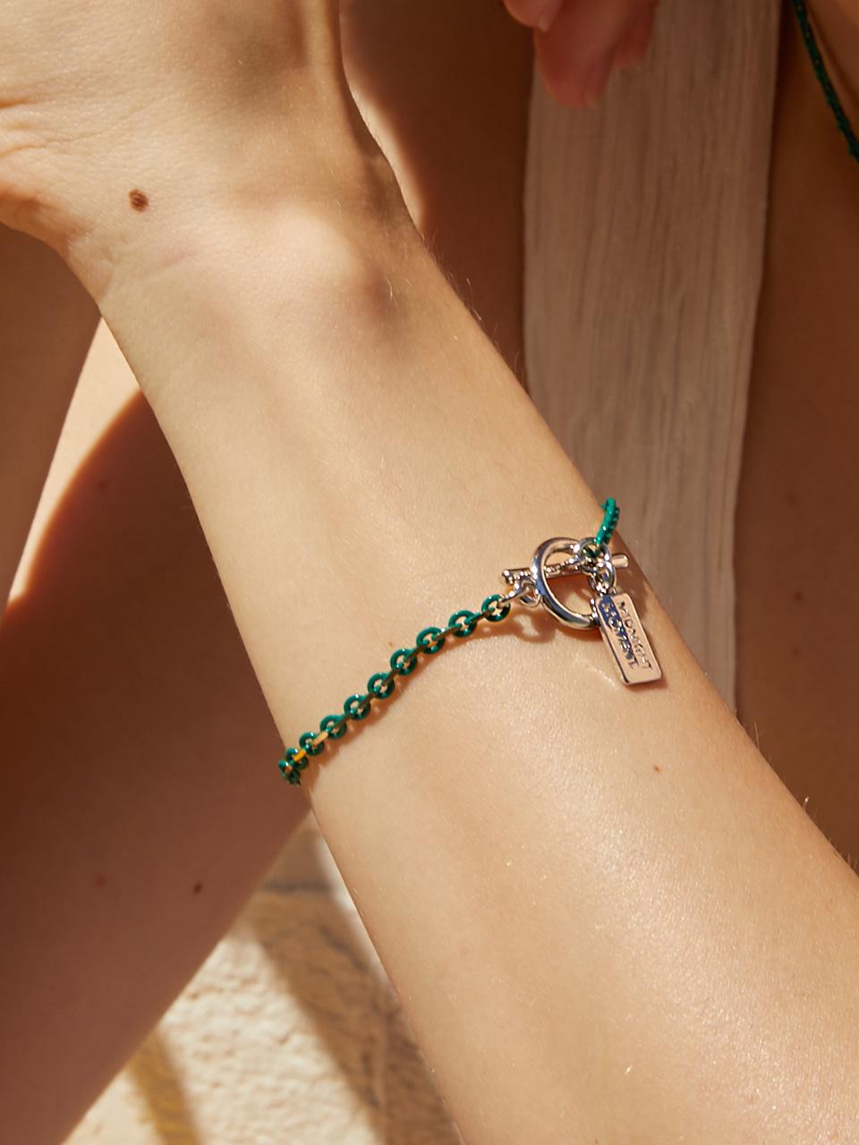 graze bracelet - green