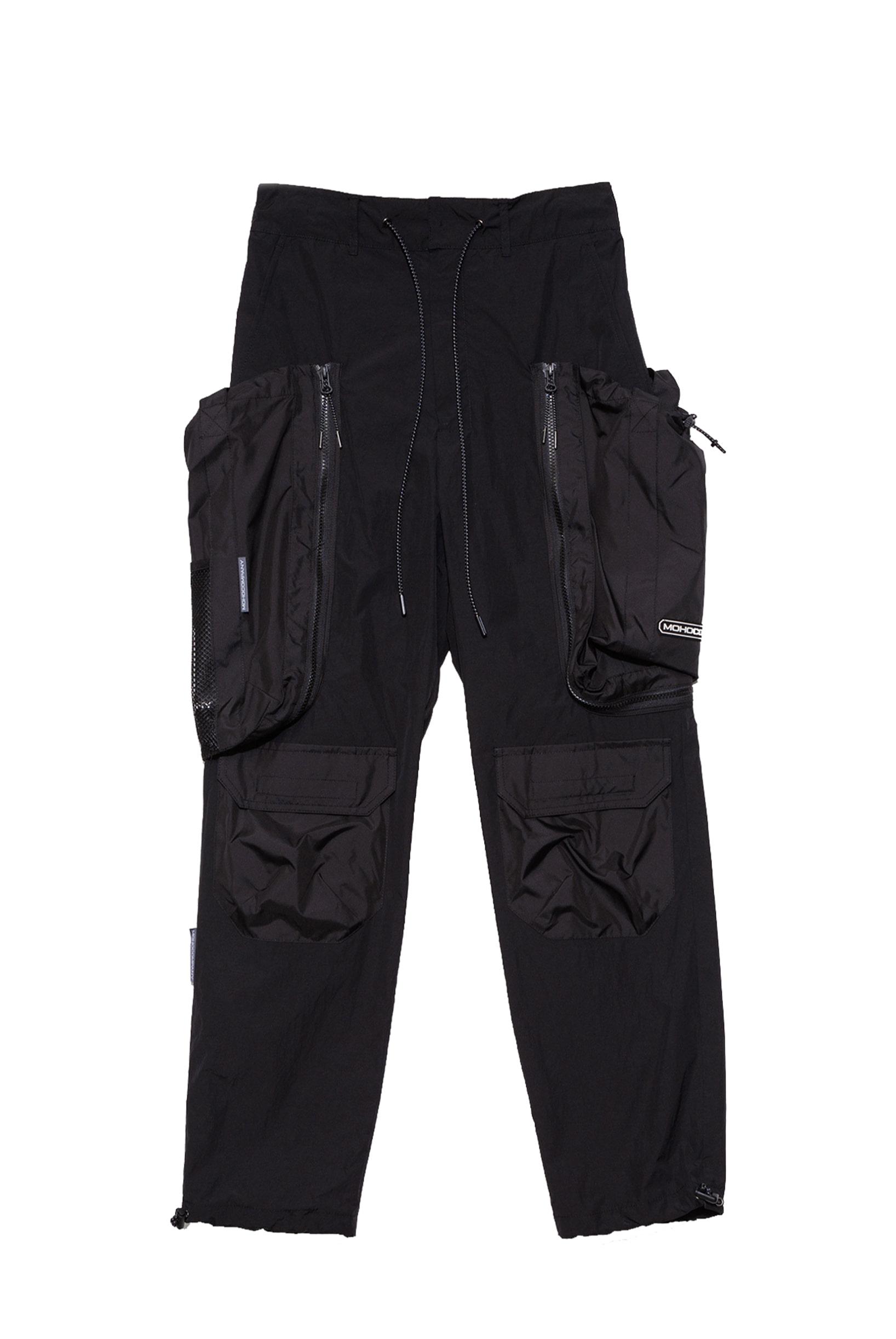 DETACHABLE BAG TREKKING PANTS (BLACK)