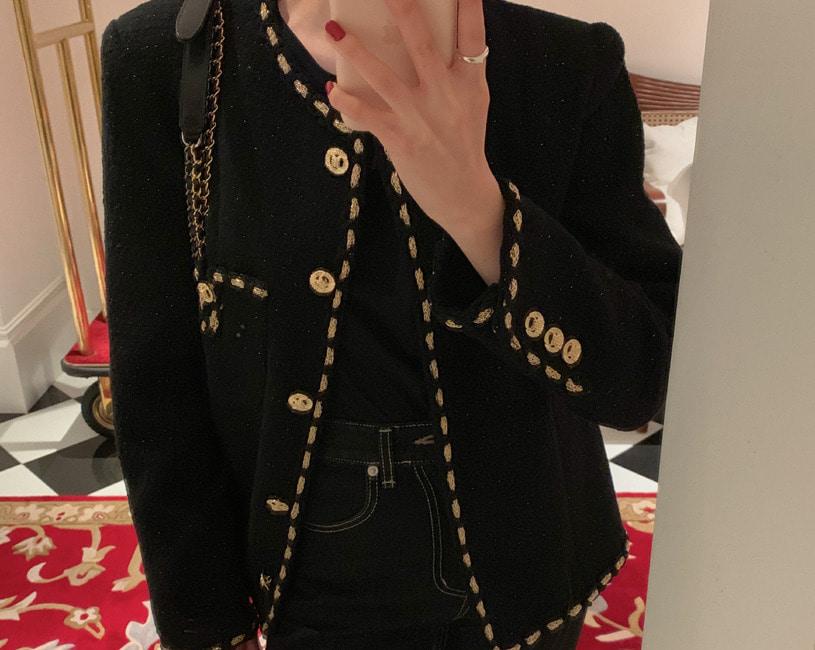 [당일출고] Nomard tweed jacket (2color)