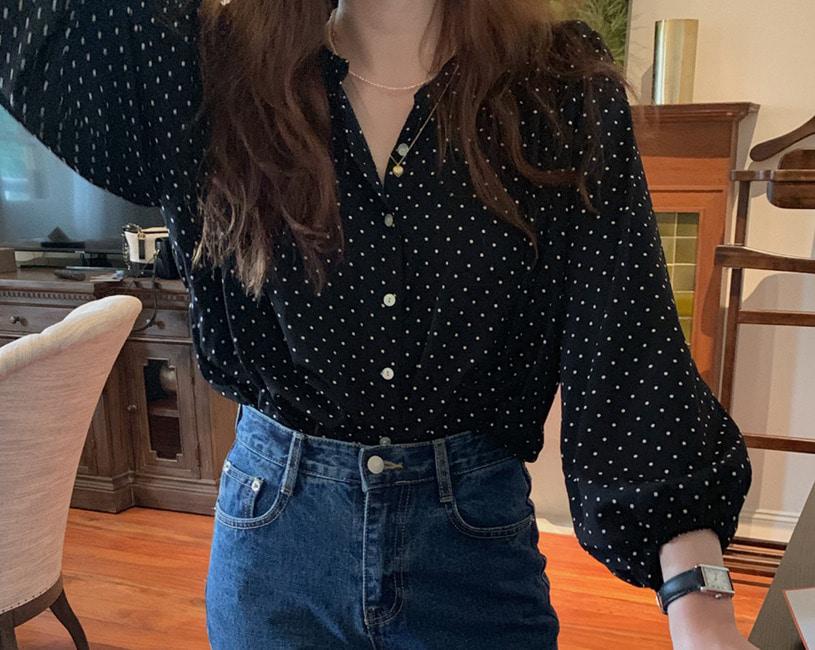 Elliott blouse (black)