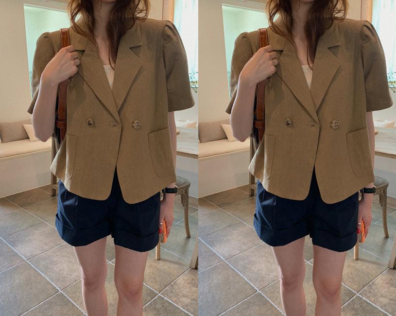 [minuet] Hazel jacket (무드 브라운)