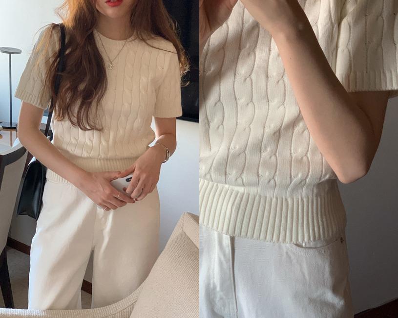 [minuet] Else knit (아이보리) (6차수량소진/예약주문/7~10일이상소요)