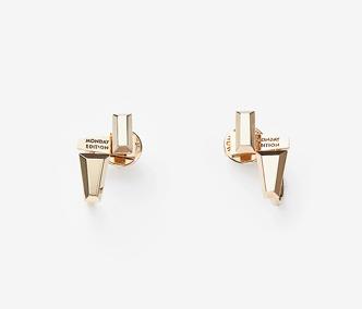[PRECIOUS] Baguette Stud Double Earrings Ver. 2