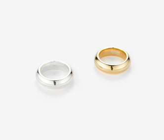 [Monday Edition] Bold Twin Silver Rings (10%off)