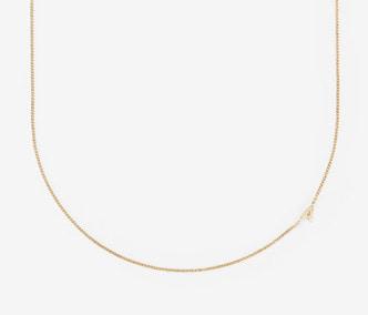 [PRECIOUS] Initial Chain Necklace (A-Z)