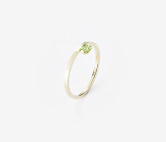 [PRECIOUS] Birthstone Ring Peridot - August