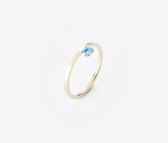 [PRECIOUS] Birthstone Ring Topaz - November