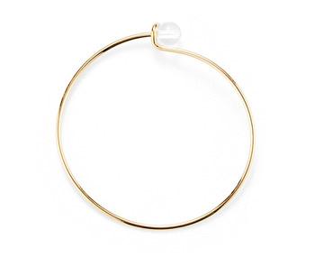 [usual ME] acrylic simple bangle (15%off)
