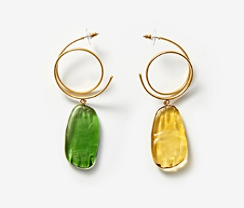 [Monday Edition] Ugly Glass Earrings (10%off)