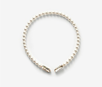 Pearl & Pointed Crystal Necklace