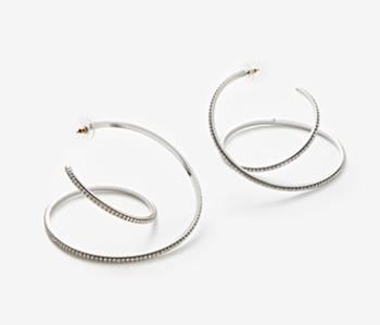 Big Coil Itself Earrings (10% off)