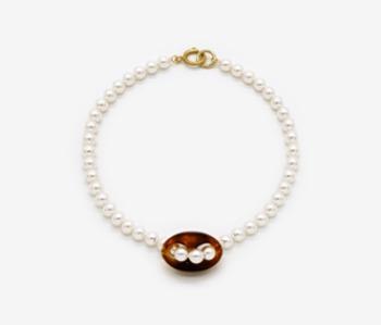 Piece of Dahlia Pearl Necklace