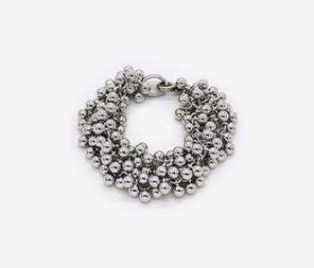 Tiny Ball Bundle Chain Bracelet