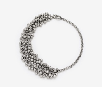 Tiny Ball Bundle Chain Necklace