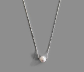 The One Pearl Necklace (15% off)