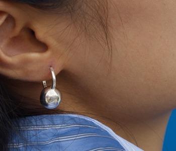 Silver 925 Kettle Bell Earrings (15% off) - 11월 초 배송