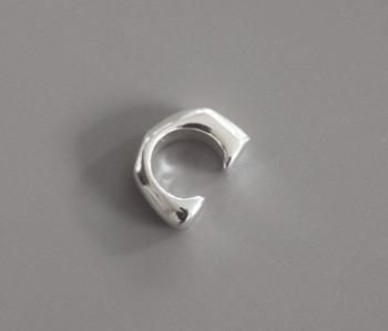 Silver 925 Simple Ear Cuff (15% off)