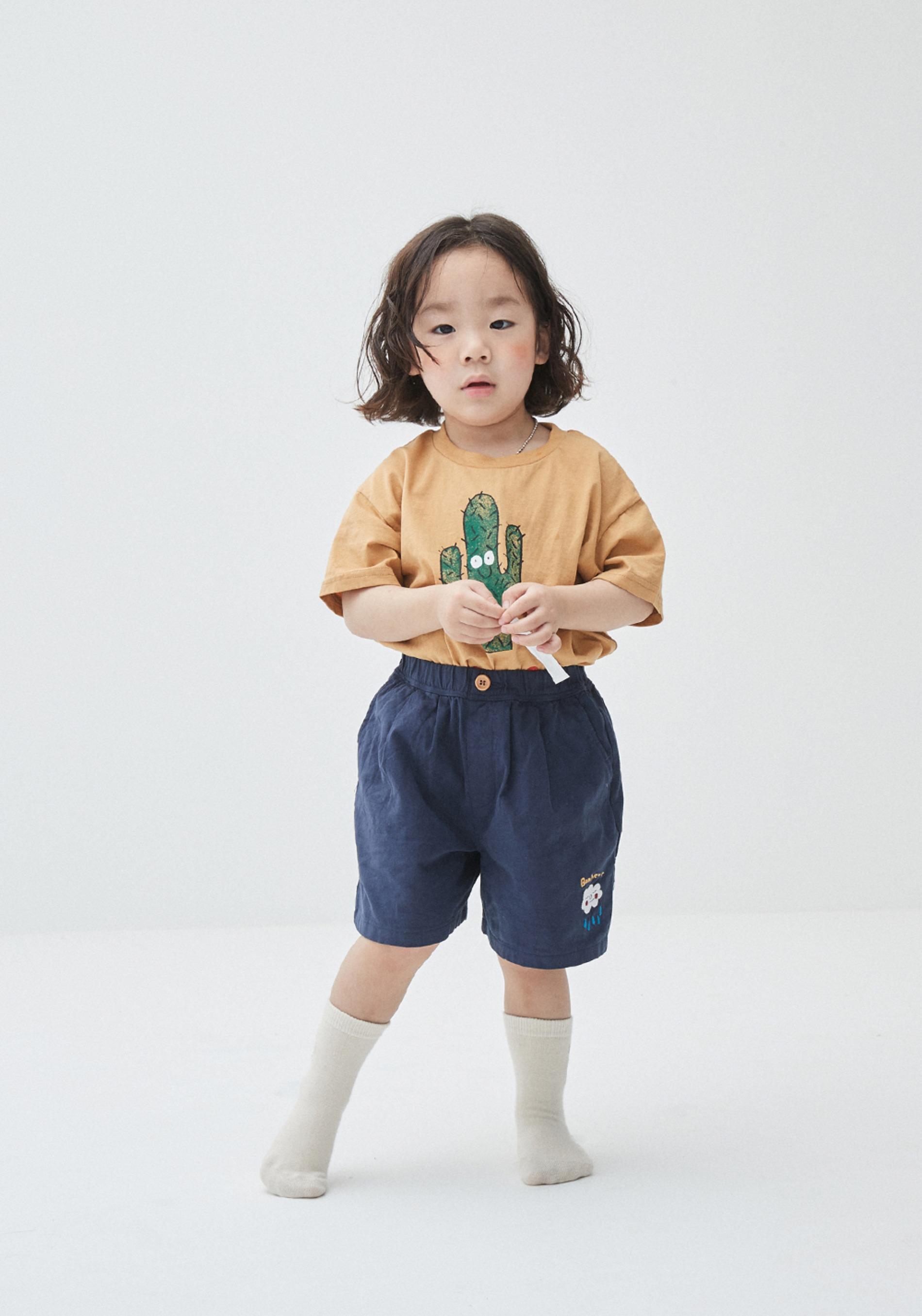 선인장 숏슬리브 티셔츠_베이비