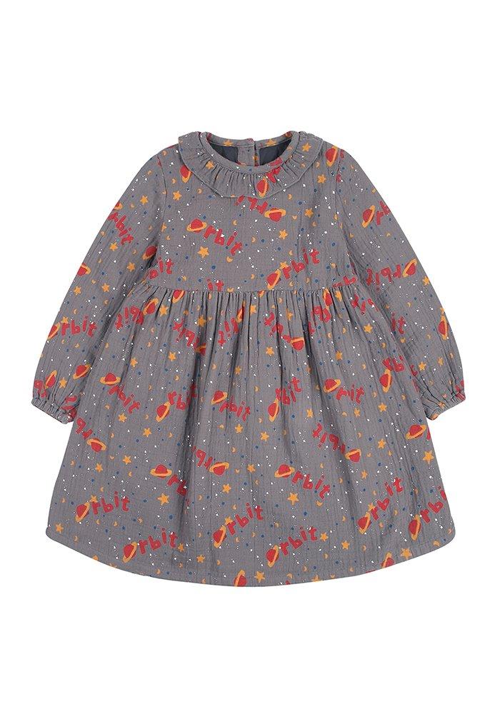 ORBIT FRILL DRESS_Kids