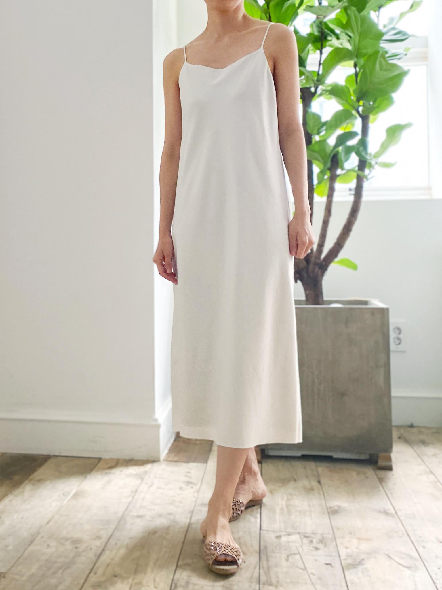 마리 슬립 드레스