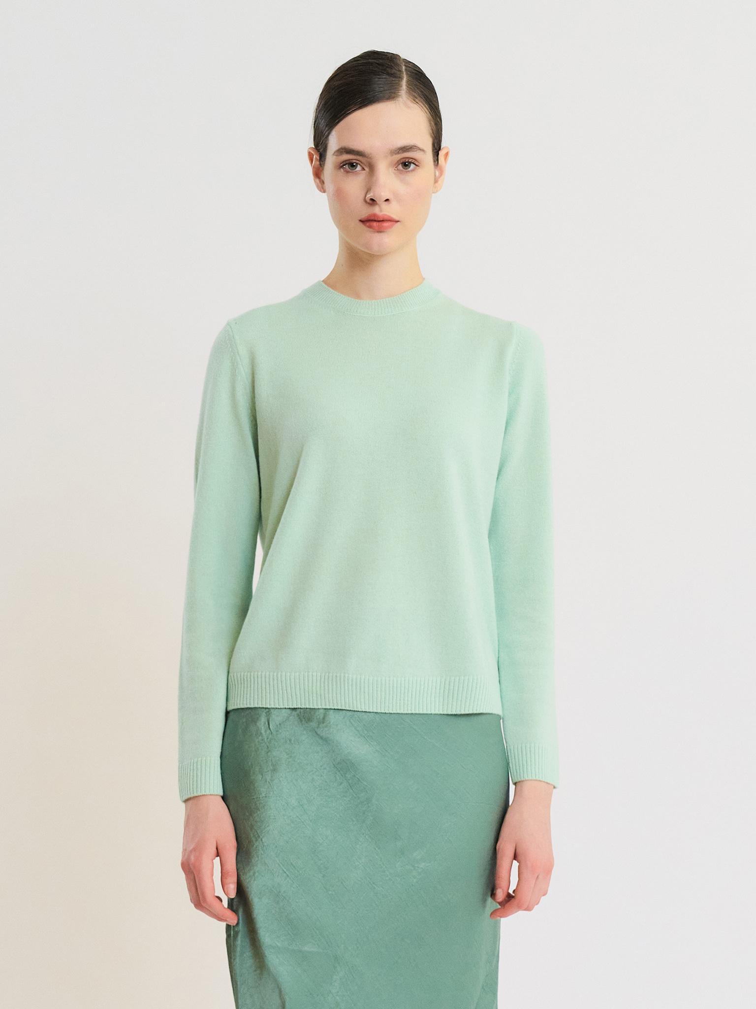 Loropiana Cashmere 100% Round Neck Knit Pullover