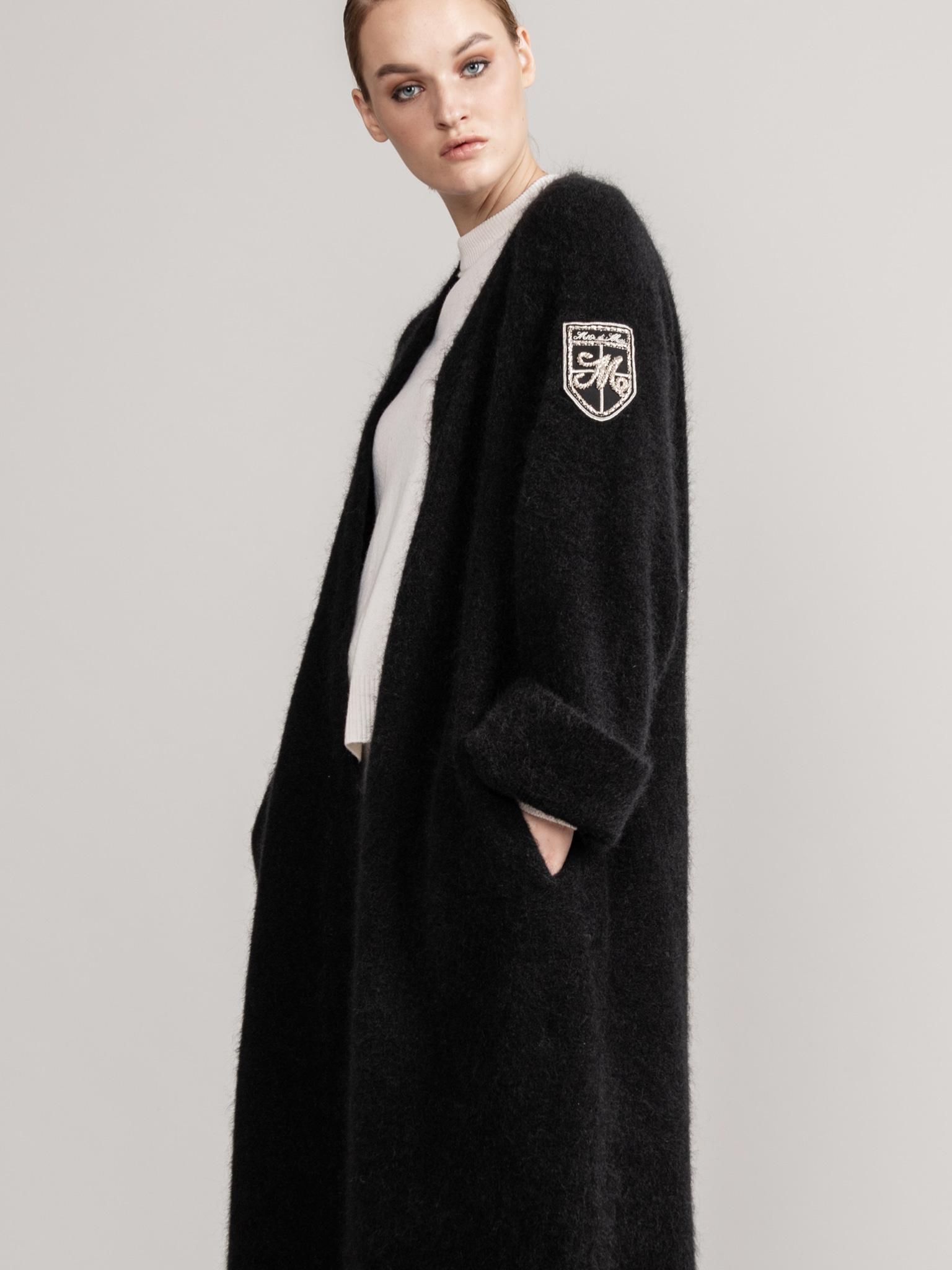 MARI X HOYA  Oversized Mohair cardigan