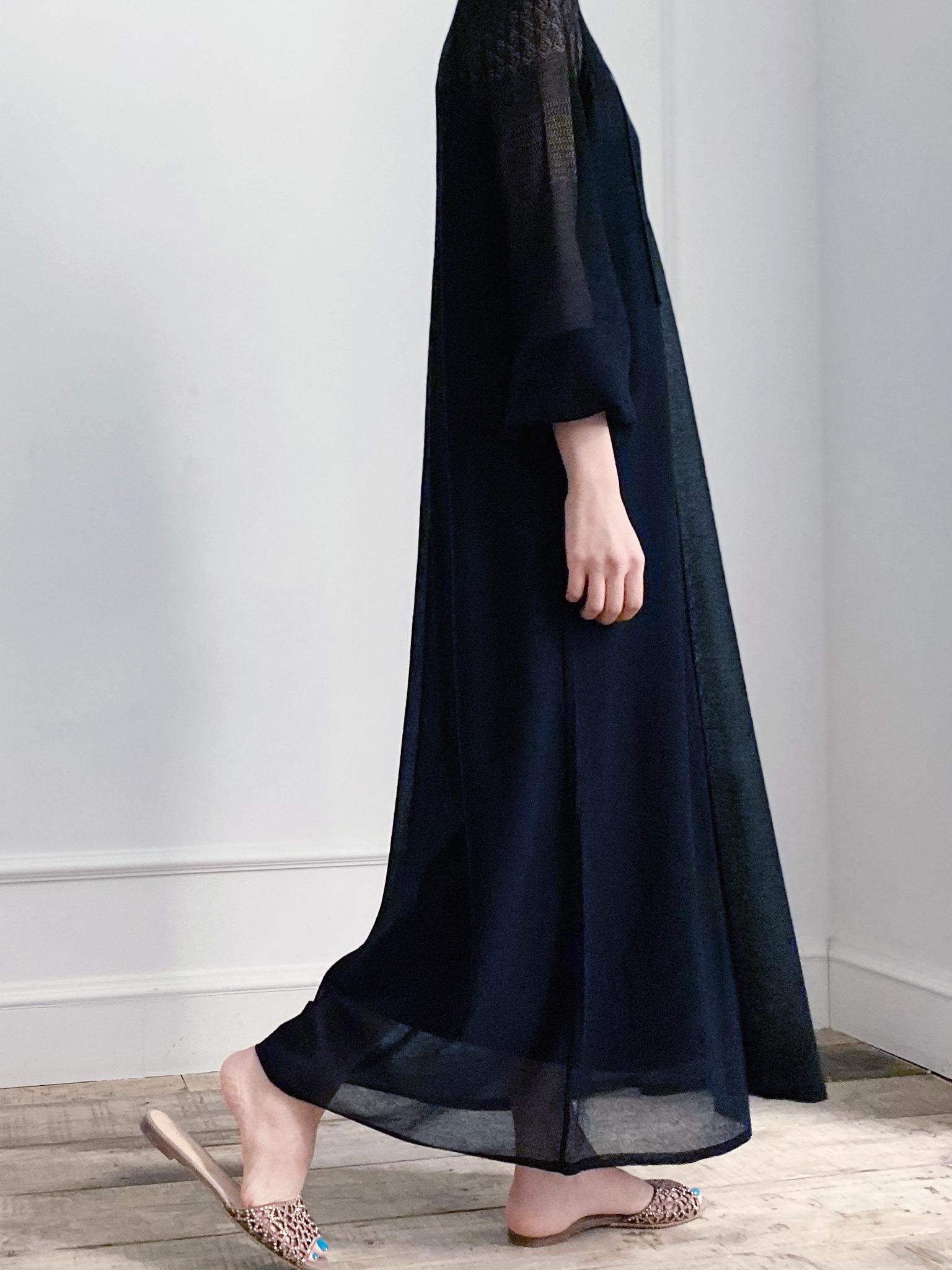 -MARE DI MARI.m-  Seethrough Knit Dress + Slip Dress SET.