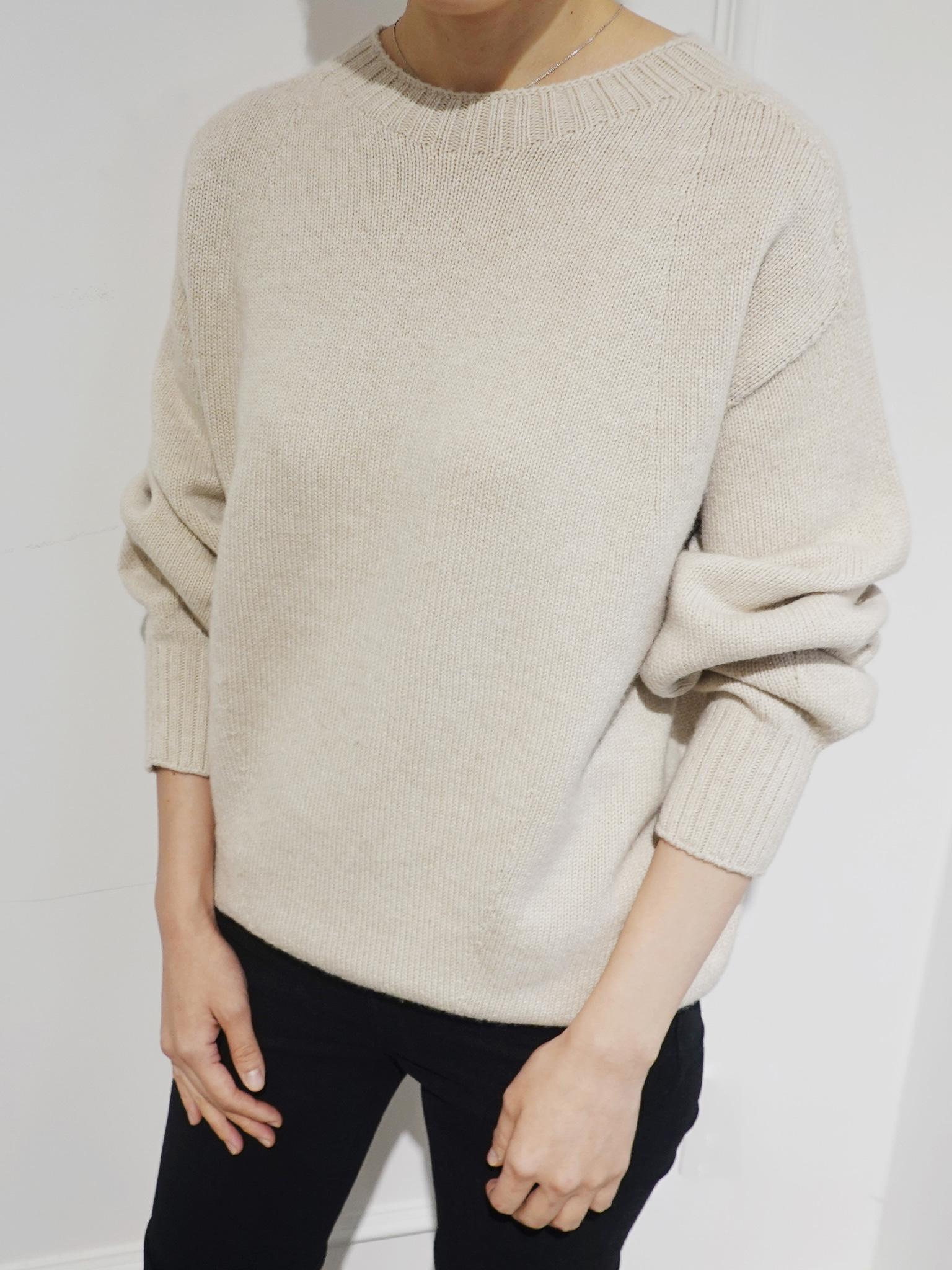 Loropiana Wholegarment Knit Pullover
