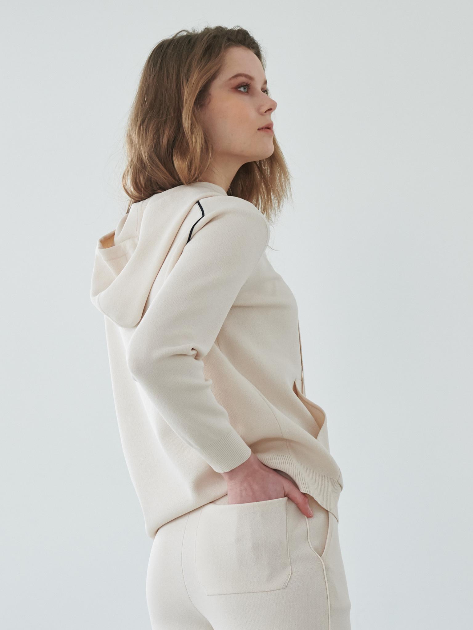 Premium Basic Hoodie Knit
