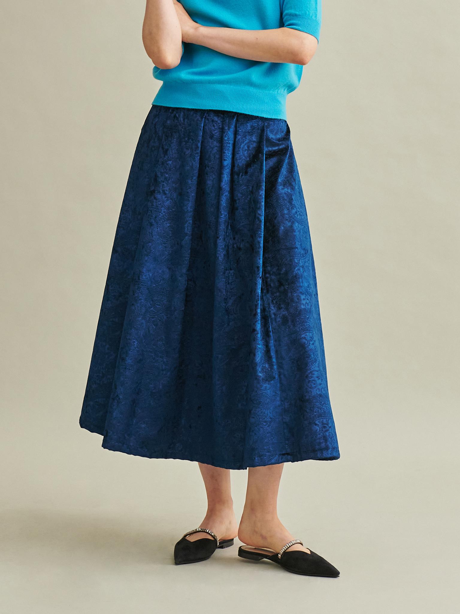 Velvet Full Skirt