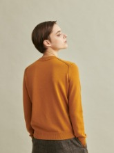 Todd&Duncan Cashmere 100% Roundneck Knit Top