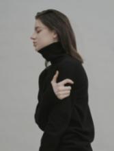 Cashmere Blend Wholegarments Turtle-neck Pullover
