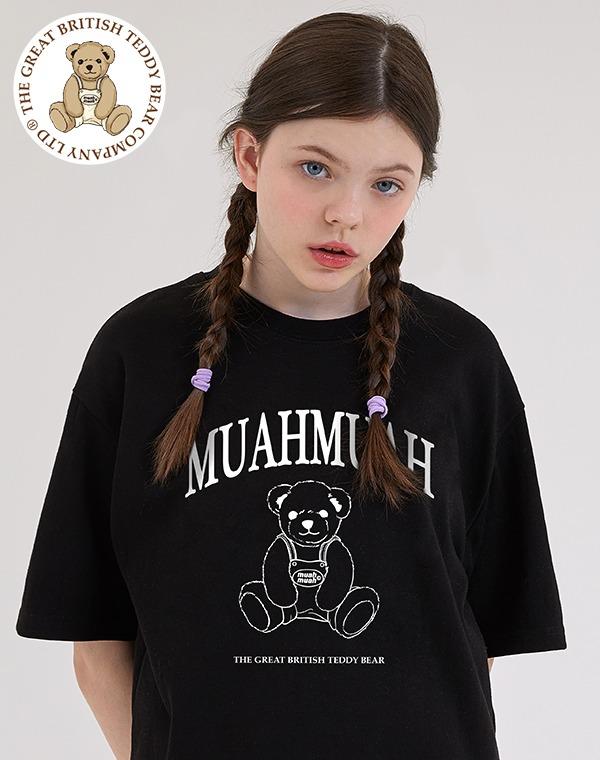 [GB X MUAH] 시그니처 베어라인 반팔티셔츠