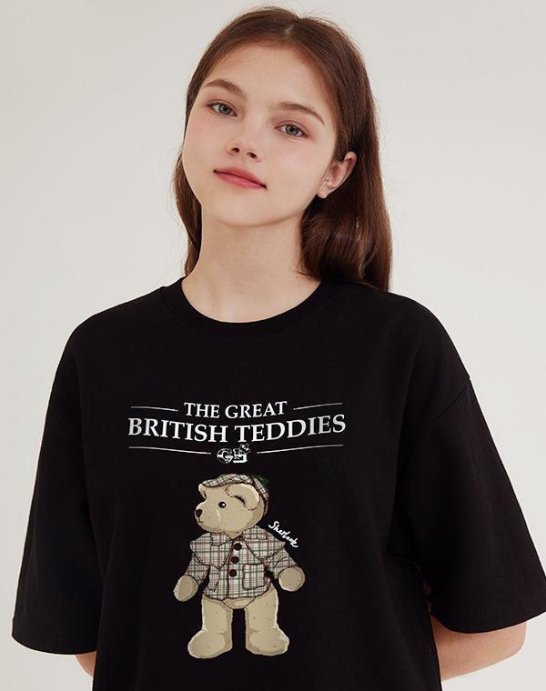 [GB] 테디 셜록 컬러 반팔티셔츠