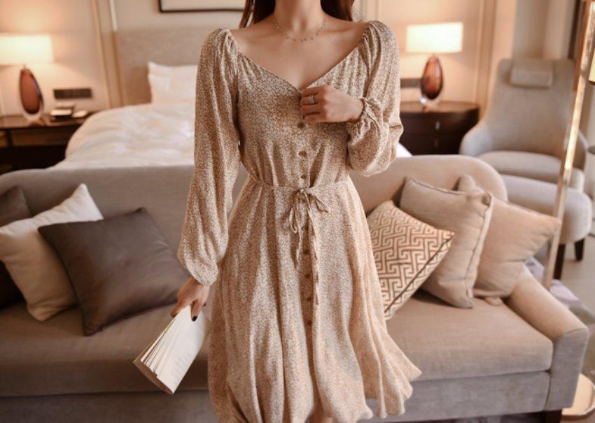 Emma long dress
