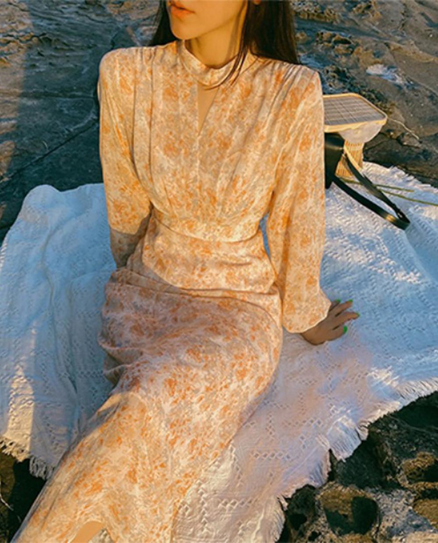 Isabella chiffon dress