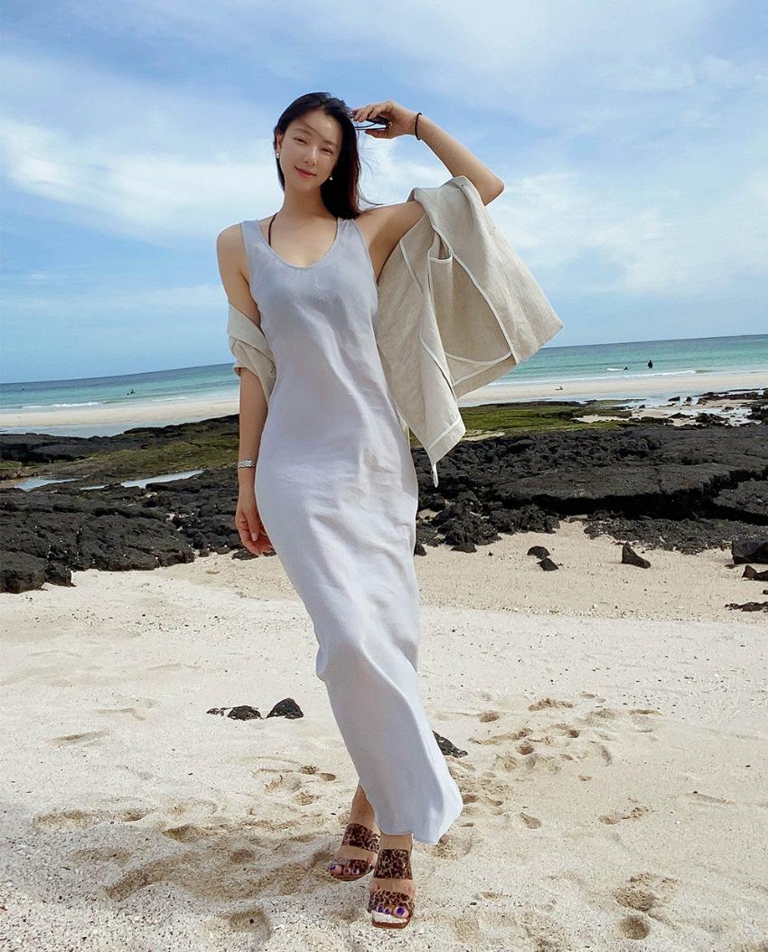 kayla slip dress